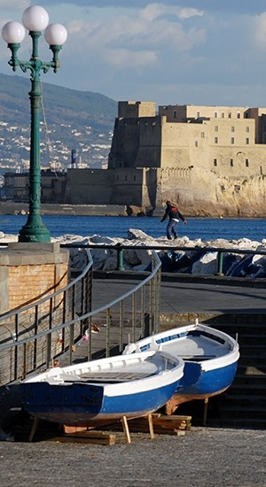 The tourist guide of naples